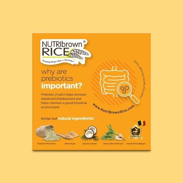 NutriBrownRice® (Original Brown Sugar Added with Prebiotics)