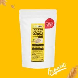 NutriBran Organic Quinoa Powder Plant Based Protein