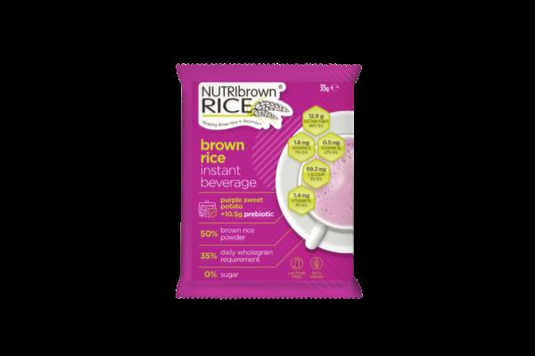NutriBrownRice® (Purple Sweet Potato-No Sugar Added with Prebiotic)